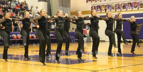 STATE CHAMPS! Dance Team Captures First Place in Class C-1 High Kick Division