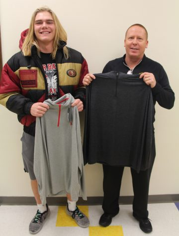 Strength Training Students Raise Funds for Weight Room