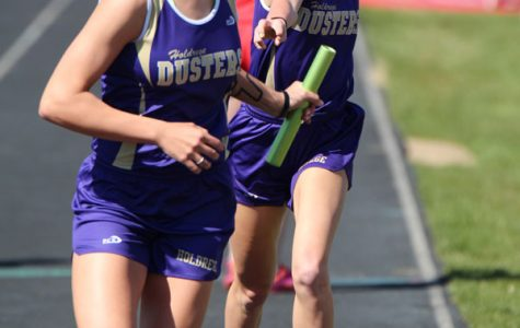 Girls' Track Team Places Second at Dutch Zorn Relays