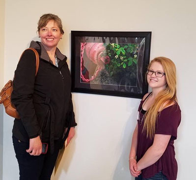 "Ashley Woosley Recognized As ""Nebraska Young Artist"""