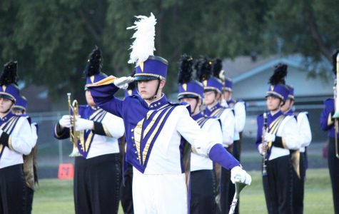 Marching Band Improves at Harvest of Harmony