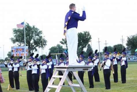 Marching Band Brings Home Trophy From State Competition