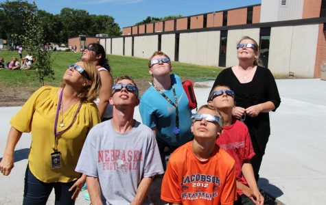 """Once-in-a-lifetime"" Eclipse Experienced by HHS Students"