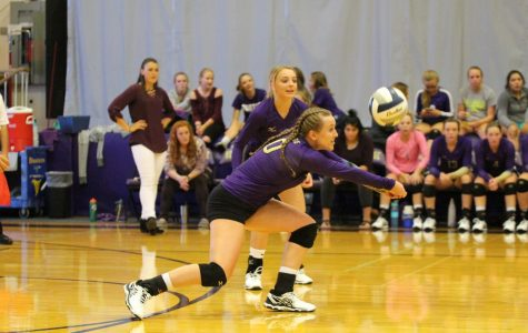 Duster Volleyball Splits Games at Recent Triangular