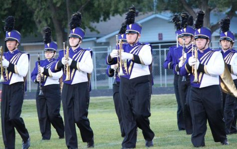 Duster Band Competes at UNK Color Day
