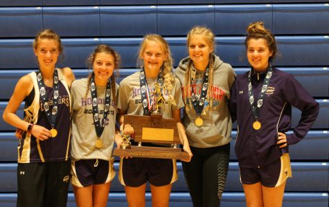 Girls' Cross Country Wins First Ever State Championship