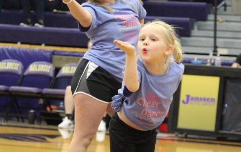 Cheer and Dance Hold Annual Clinic for K-5 Students
