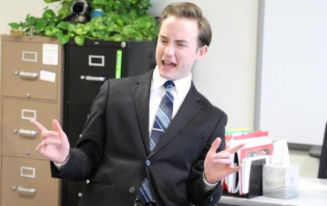 Speech Team Competes at District Meet
