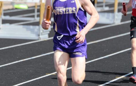 Boys' Track Places Third at Central 10 Conference Meet