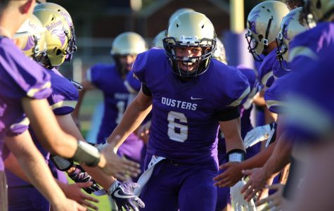 Duster Football Suffers Loss on Homecoming Night
