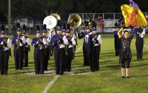 Marching Band Earns First Place at UNK Parade Competition