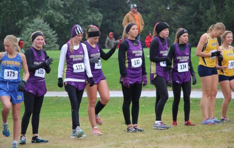 Girls' Cross Country Runs to Central 10 Conference Championship