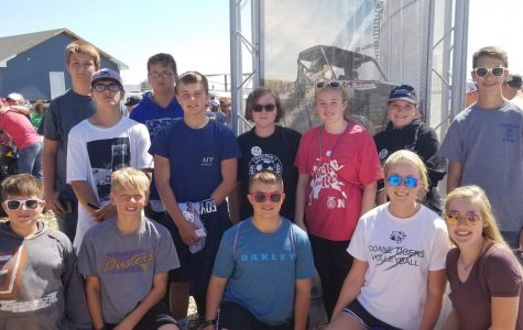 Introduction to Agriculture Class Attends Husker Harvest Days