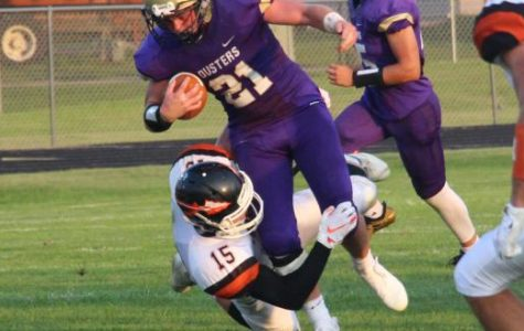 Duster's Strong Second Half Not Enough Versus Adams Central