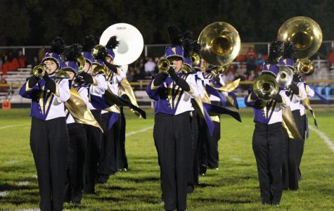 Marching Band Ends Season at State Competition