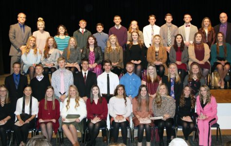 National Honor Society Inducts Twenty New Members