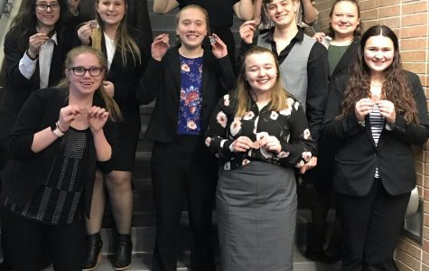 Speech Team Competes at CNFL #2