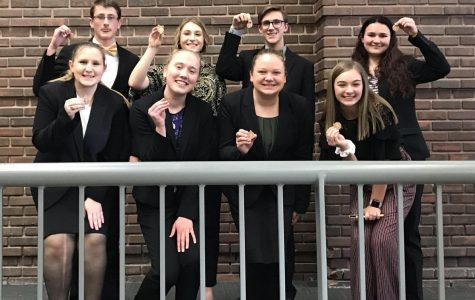 Speech Team Competes in Lexington Meet
