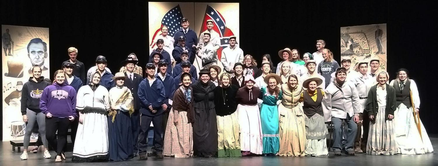 Holdrege High School - One-Act Cast