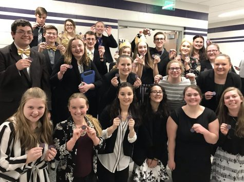 HHS Makes Good Showing at Broken Bow Speech Meet
