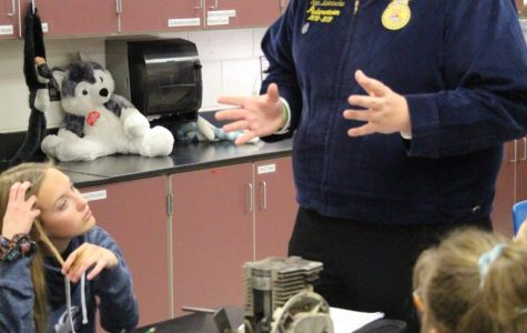 National FFA Week Promoted at All Holdrege Schools