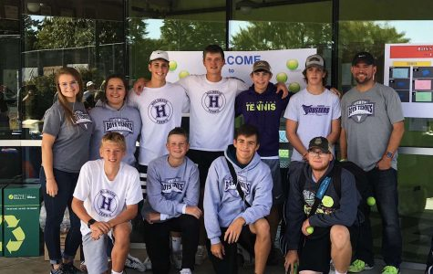 Boys Tennis Team Competes at State